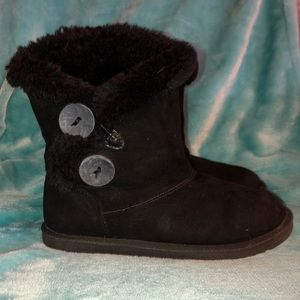 Girl's Faux Suede Boots